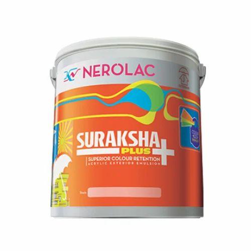 Nerolac Suraksha Plus Acrylic Exterior Emulsion Wall Paint