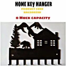 Black Home Key Hanger (Nac00021d)