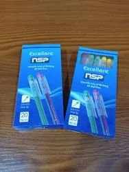 Excellent Plastic Use and Throw Ball Pen, Packaging Type: Packet
