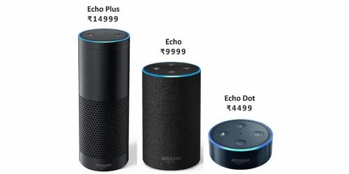 Wireless Speaker Amazon Echo Plus Size 4 Inches Rs 15000 Unit