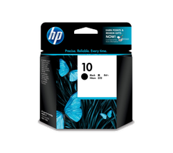 Hp 10 Black Ink Cartridge C4844A