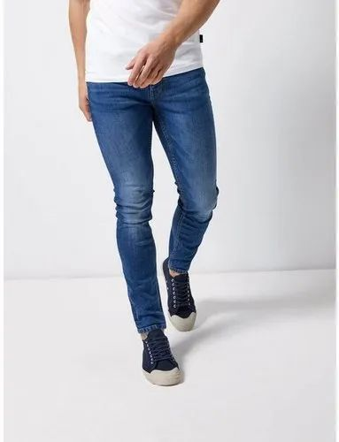 Comfort Fit Casual Wear Mens Denim Jeans