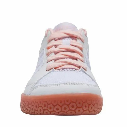Perfly BS 190 White Pink Women Badminton Shoes