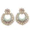 Ethnic Cresent Shaped Earrings