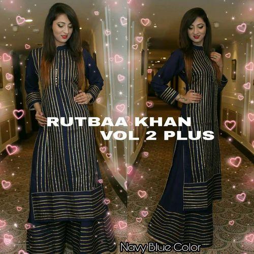 aa6a7e86c9 Stitched Kurti Palazoo, महिलाओं की पोशाक, लेडीज़ ...