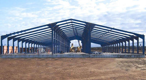 PEB Fabricated Structure Shed, Use: Industrial