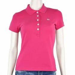 Girls Collar T Shirt