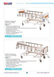 Manual 4 Function ICU Bed