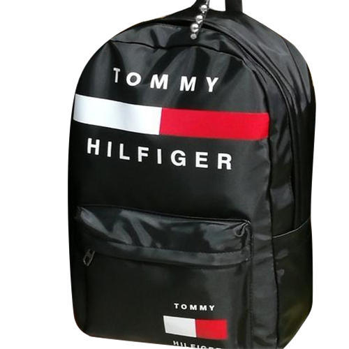 0be59730071 PU Black Tommy Hilfiger Backpack, Size: 14 Inch, Rs 400 /piece | ID ...