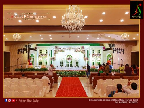 wedding stage backdrop design