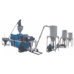 Automatic HPMC Conical Twin Screw Extruder for PVC Compounding, 55 Kw
