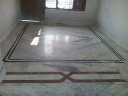 Floor Marble Fitting Work