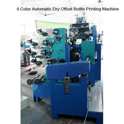 4 Color Automatic Dry Offset Bottle Printing Machine