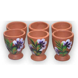 Earthen Glass Set ( 100 Ml )