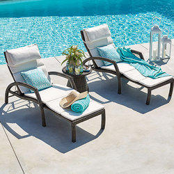 Poolside Lounger Chair Set