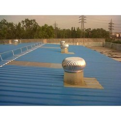 Iron Coated Turnkey Roofing Services, for Industrial