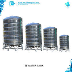 Rushi SS Water Tank, For Industrial