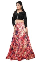 f93f9930db Madhav Design Free Printed Crop Top For Girls, Rs 499 /piece | ID ...