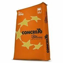 Lafarge Concreto 5 Star Cement, Cement Grade: Grade 43, Packaging Size: 50 Kg