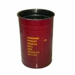 Chemicals Mild Steel Open Top 50kgs MS Drums, Capacity: 0-50 litres, 2 To 4 Feet
