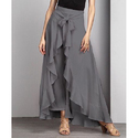 Women Fancy Ruffle Palazzo Pants