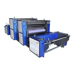 Roll To Roll Paper Printing Machine Two Color