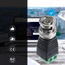 BNC Connectors For AHD Camera CVI Camera TVI Camera CCTV Camera