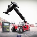 Reach Stacker On Board Weighing System