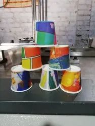 Multicolor Printed 40 mL Paper Cup