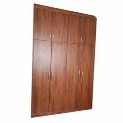 Wooden No Designer Almirah