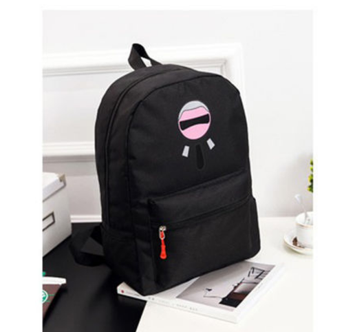 da5d5ee1a6d9f Black Stylish Printed Ladies Backpacks For College Girls, Rs 520 ...