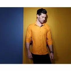 Orner Collar Neck Men Fashion Cotton Shirt