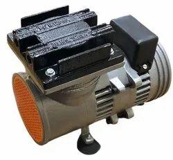 Single Stage 1/20 Hp Oil Free Compressor, Discharge Pressure: 25 Psi, Maximum Flow Rate: 0-20 Cfm