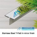 MSI V Grooved Stainless Steel T Patti