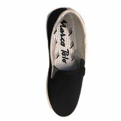 Marcopolo Black Canvas Shoes
