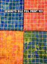 Senorita Silk Foil Print Fabric