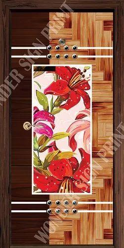 Digital Paper Door Lamination Resin Print