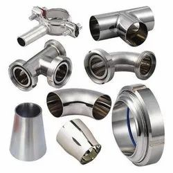 Cromonimet Prime SS Seamless Pipe Fittings, Size: 2 inch,1/4 inch,3/4 inch