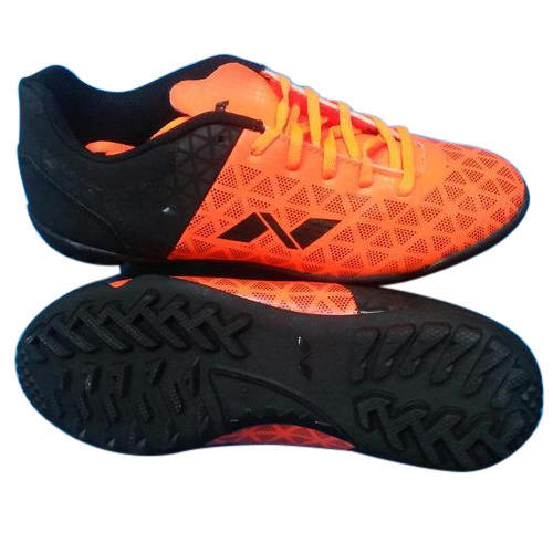 a179bac39 Black Orange Men Nivia Soccer Trainer Shoes, Rs 700 /pair   ID ...