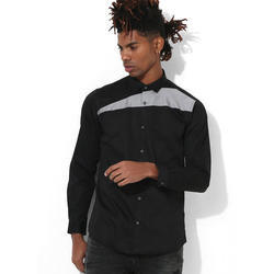 Mens Black Clubwear Shirt