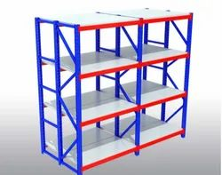 Ms Paint Coated Heavy Duty Racks, For Industrial