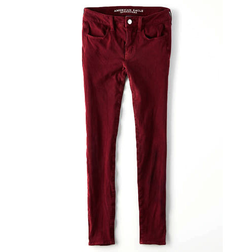 ac31f58367278c Mehroon Slim Womens Jegging Jeans, Rs 450 /piece, Happy Trades Com ...