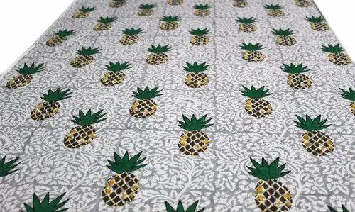 5 Yards Handblock Print Fabric Natural Sewing Garment Clothing Dress New Indian
