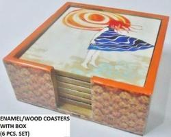MDF Coaster Set