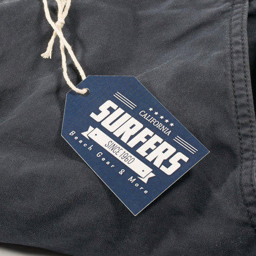 3 Inch Jeans Printed Tag, Packaging Type: Packet