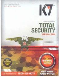 K7软件总安全3 PC 1年(即时电子邮件发货1分钟)