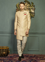 Nawabi Style Wedding Wear Mens Sherwanis