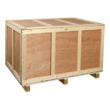 Solid Wood Packing Box