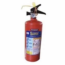 Red A B C Dry Powder Type SAFEX FIRE EXTINGUISHERS 4 KG, for EVERY WHERE, Capacity: 4Kg