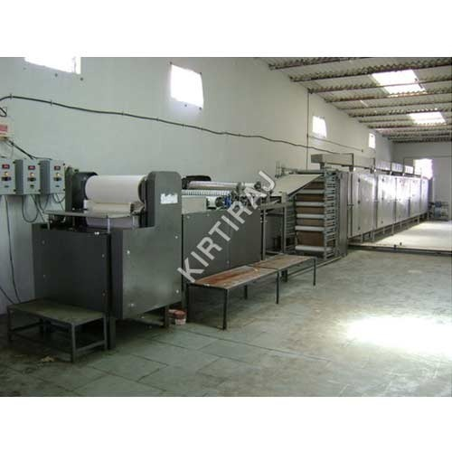 Industrial Papad Making Machine